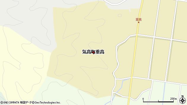 〒689-0224 鳥取県鳥取市気高町重高の地図