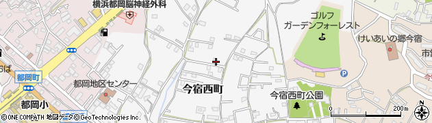 神奈川県横浜市旭区今宿西町周辺の地図