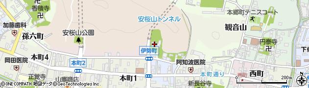 大雲寺周辺の地図