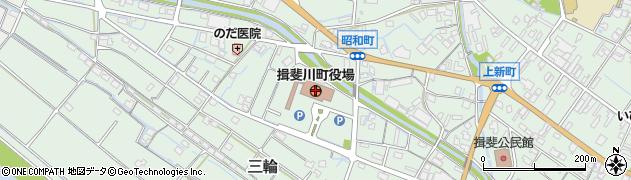 岐阜県揖斐川町(揖斐郡)周辺の地図