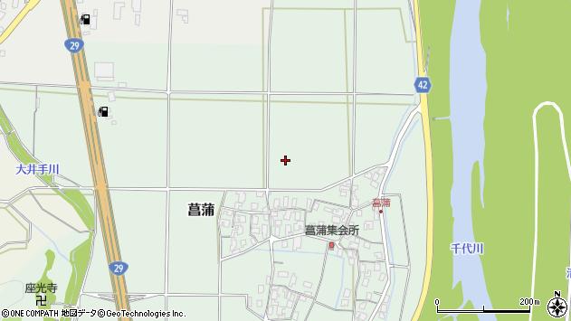 〒680-0922 鳥取県鳥取市菖蒲の地図