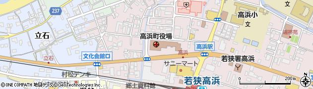 福井県大飯郡高浜町周辺の地図