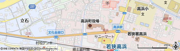福井県高浜町(大飯郡)周辺の地図