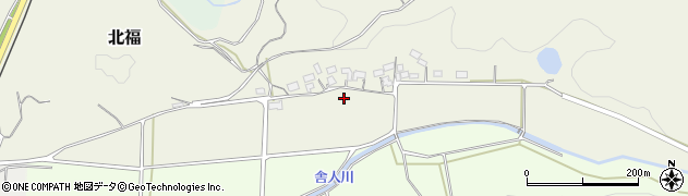 鳥取県湯梨浜町(東伯郡)北福周辺の地図