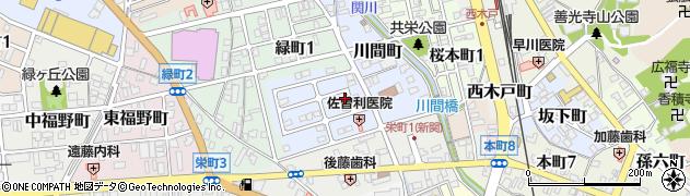 岐阜県関市辻井戸町周辺の地図