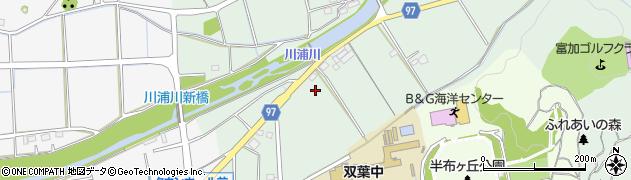 岐阜県加茂郡富加町加治田絹丸周辺の地図