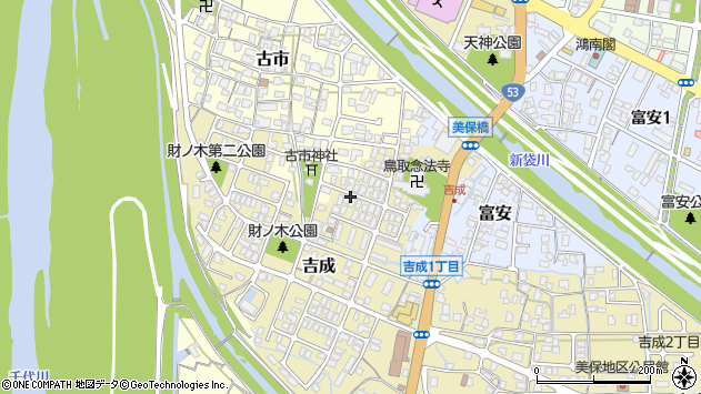 〒680-0864 鳥取県鳥取市吉成の地図