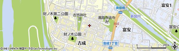 鳥取県鳥取市吉成周辺の地図