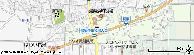 湯梨浜町役場 みらい創造室周辺の地図