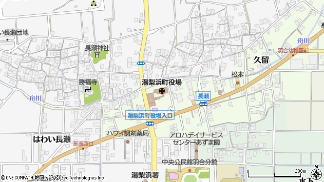 〒682-0700 鳥取県東伯郡湯梨浜町(以下に掲載がない場合)の地図