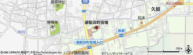 鳥取県東伯郡湯梨浜町周辺の地図