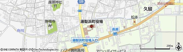鳥取県湯梨浜町(東伯郡)周辺の地図