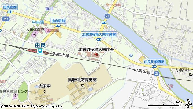 〒689-2200 鳥取県東伯郡北栄町(以下に掲載がない場合)の地図
