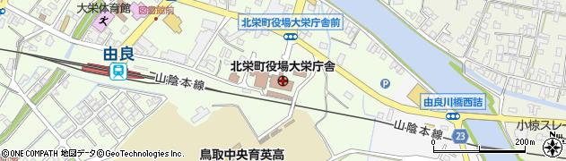 鳥取県北栄町(東伯郡)周辺の地図