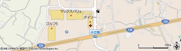 山梨県南都留郡富士河口湖町小立周辺の地図