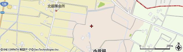 千葉県茂原市小萱場周辺の地図