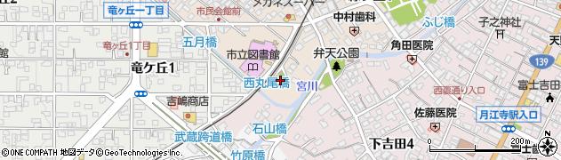 大明神周辺の地図