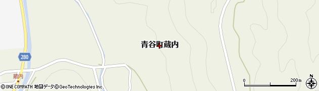 鳥取県鳥取市青谷町蔵内周辺の地図