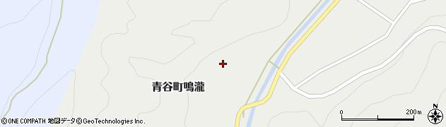 鳥取県鳥取市青谷町鳴瀧周辺の地図