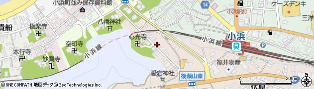 福井県小浜市小浜大宮周辺の地図