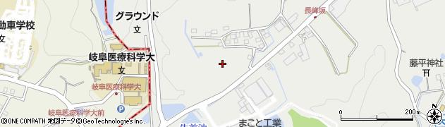 岐阜県加茂郡富加町大平賀長峰周辺の地図