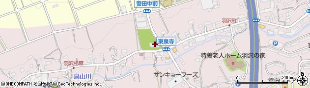 東泉寺周辺の地図