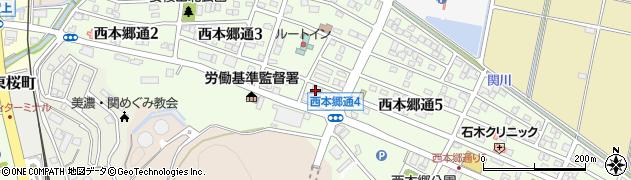株式会社関モクヒロックス周辺の地図