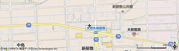 岐阜県岐阜市太郎丸(新屋敷)周辺の地図