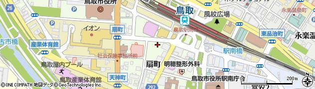 鳥取県鳥取市扇町周辺の地図