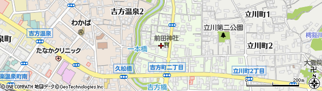 鳥取県鳥取市吉方町周辺の地図