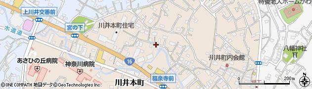 神奈川県横浜市旭区川井本町周辺の地図
