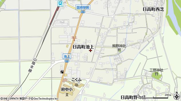 〒669-5326 兵庫県豊岡市日高町池上の地図