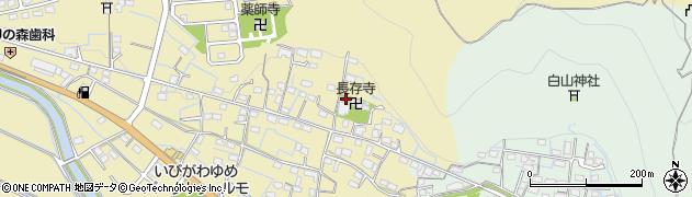 長存寺周辺の地図