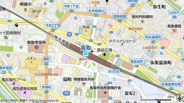 〒680-0835 鳥取県鳥取市東品治町の地図