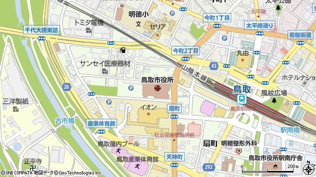 〒680-0000 鳥取県鳥取市(以下に掲載がない場合)の地図