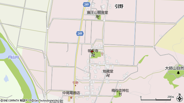 〒668-0843 兵庫県豊岡市引野の地図
