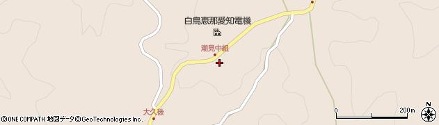 潮久寺周辺の地図