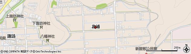 岐阜県岐阜市太郎丸(北浦)周辺の地図