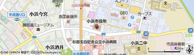 福井県小浜市周辺の地図