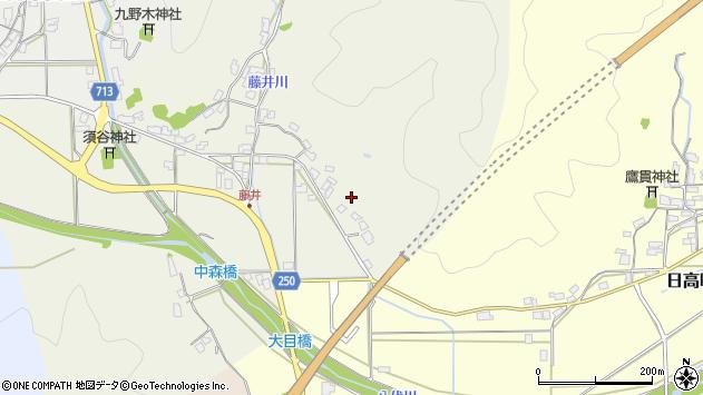 〒669-5333 兵庫県豊岡市日高町藤井の地図