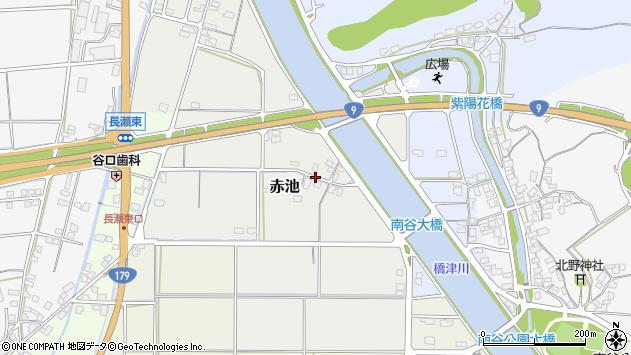 〒682-0714 鳥取県東伯郡湯梨浜町赤池の地図