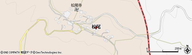 京都府舞鶴市松尾周辺の地図