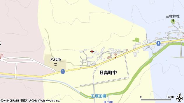 〒669-5337 兵庫県豊岡市日高町中の地図