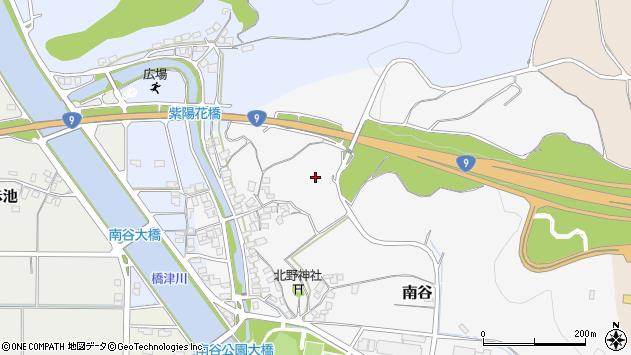 〒682-0704 鳥取県東伯郡湯梨浜町南谷の地図