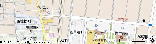 JAめぐみの介護サービス中濃営業所周辺の地図