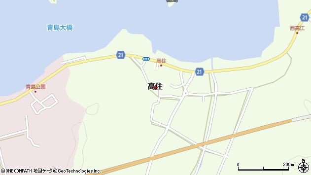 〒680-1416 鳥取県鳥取市高住の地図