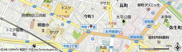 鳥取県鳥取市今町周辺の地図