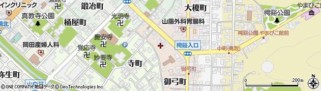 鳥取県鳥取市大工町頭周辺の地図