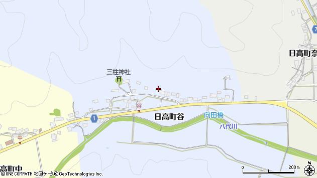 〒669-5336 兵庫県豊岡市日高町谷の地図