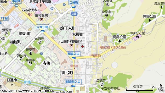 〒680-0016 鳥取県鳥取市中町の地図